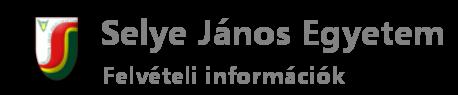 Felvételi információk Logo